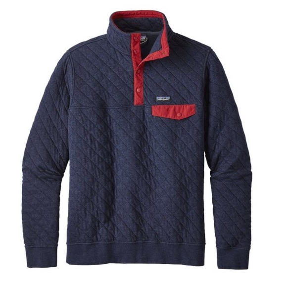 Patagonia Jackets & Blazers - Patagonia Organic Cotton Quilt Snap-T® Pullover